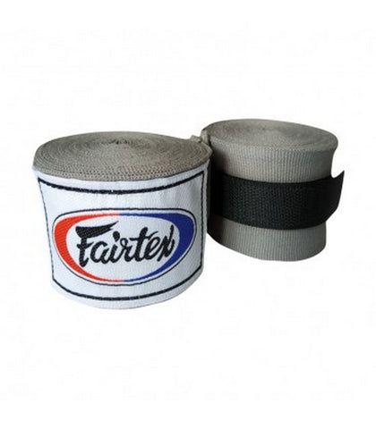 Fairtex Elastic Cotton Handwraps Grey HW2