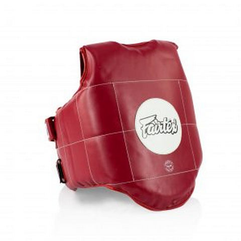 Fairtex PV1 Body Protective Vest Rib Guards Competition Sparring Training Muay Thai MMA K1