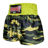 Kombat Gear Muay Thai Boxing shorts Green Army Camouflage