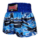 Kombat Gear Muay Thai Boxing shorts Blue Army Camouflage