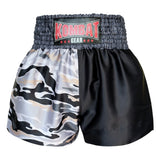Kombat Gear Muay Thai Boxing shorts Yellow Army Camouflage