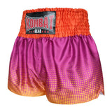 Kombat Gear Muay Thai Boxing shorts Gradient Polka Dot With Pink Purple