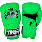 "TOP KING Boxing Gloves Super ""AIR"" Neon Green TKBGSA"