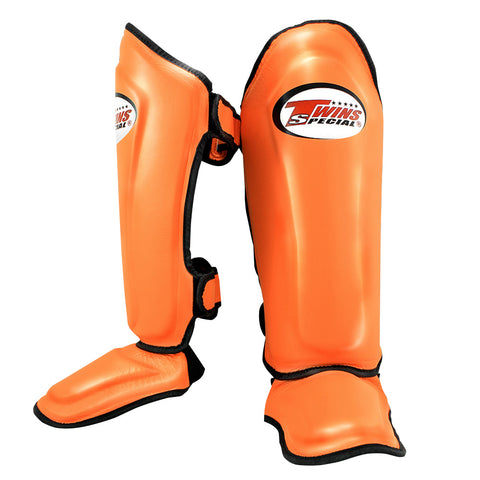 Twins Special Shin Protection Orange SGL10