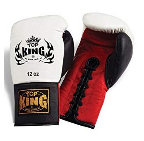 "TOP KING Boxing Gloves ""Competition"" official"