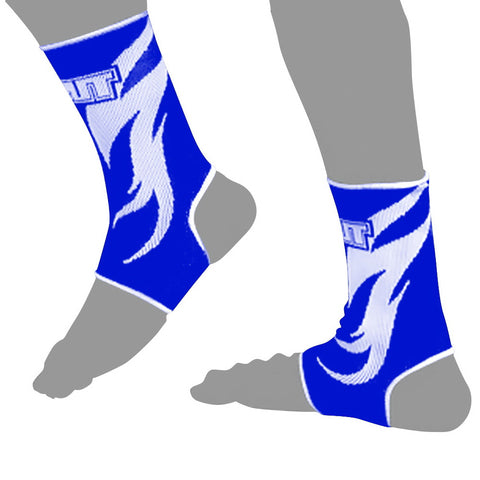 TUFF Muay Thai Ankle Support Blue