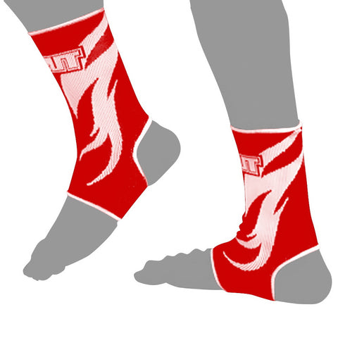 TUFF Muay Thai Ankle Support Red