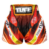 TUFF Muay Thai Boxing Shorts Red With Double Tiger