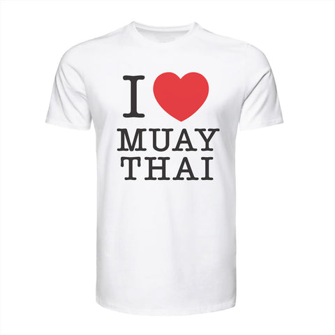 "TUFF Muay Thai T-Shirt Vintage Collection ""I Love Muay Thai"""