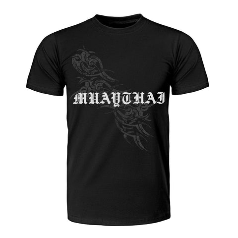 TUFF Muay Thai T-Shirt Vintage Collection Muay Thai Tribal Tattoo Design
