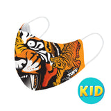 TUFF Fabric Mask Orange Cruel Tiger ( KID )