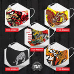 TUFF Fabric Mask Collection Set 4
