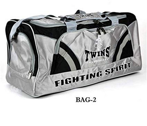 Twins Special Gym Bag Bag-2 Gray