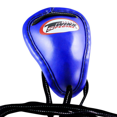 Twins Special Muay Thai Boxing Groin Protector Blue GPS-1