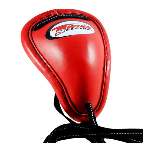 Twins Special Muay Thai Boxing Groin Protector Red GPS-1