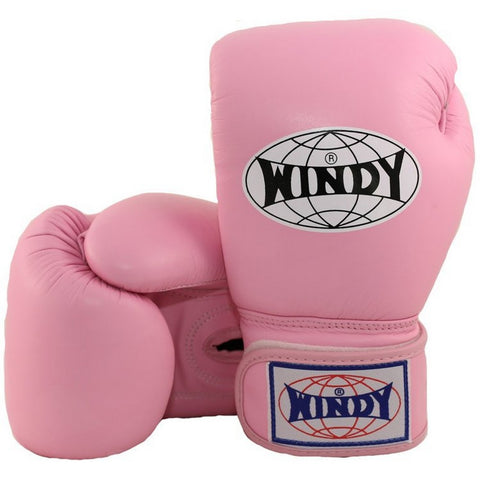 Windy Amateur Boxing Gloves Pink genuine leather BGVH