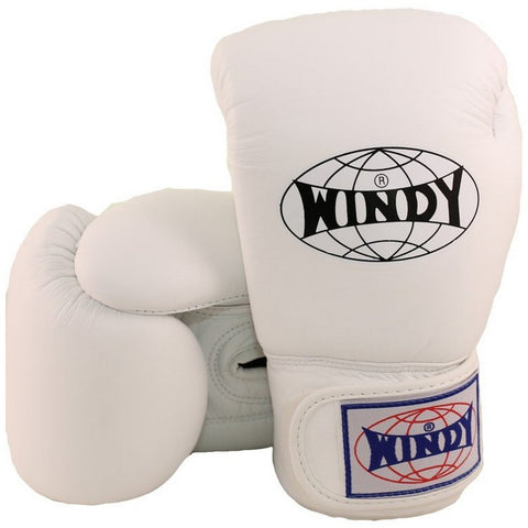 Windy Amateur Boxing Gloves White genuine leather BGVH