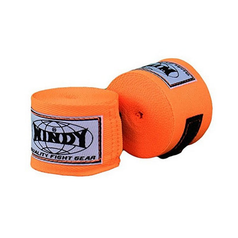 Windy Muaythai Boxing Handwraps Orange