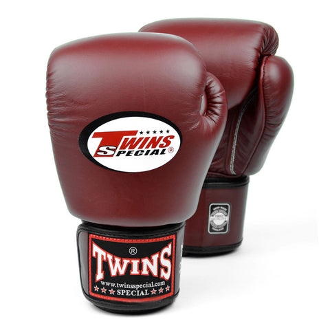Twins Special Muay Thai Boxing Gloves Burgundy BGVL-3