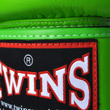 Twins Special Muay Thai Boxing Gloves Green BGVL-3