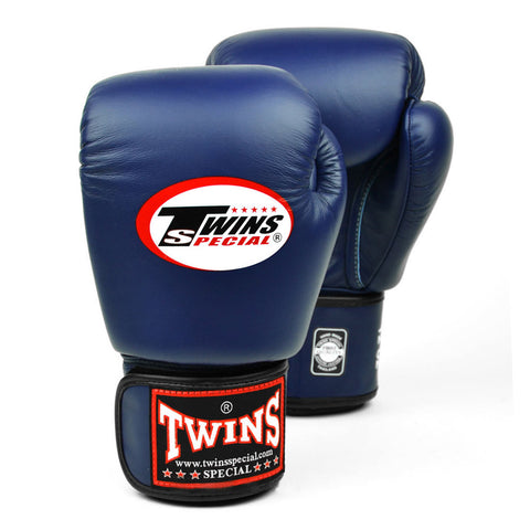 Twins Special Muay Thai Boxing Gloves Navyblue BGVL-3