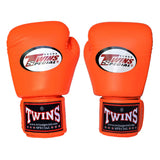 Twins Special Muay Thai Boxing Gloves Orange BGVL-3