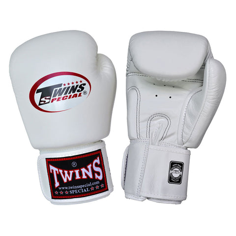 Twins Special Muay Thai Boxing Gloves White BGVL-3