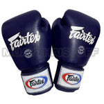 Fairtex Muay Thai Boxing Gloves Solid Navy Blue BGV1