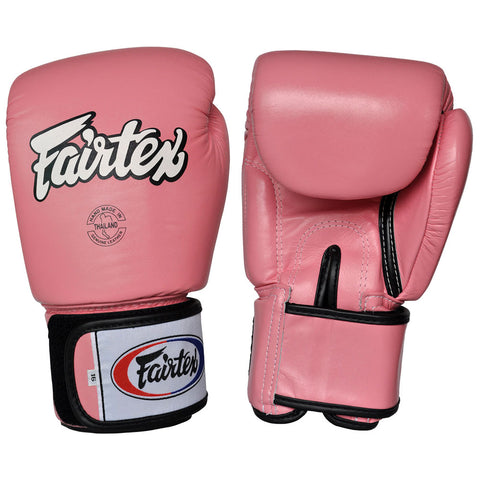Fairtex Muay Thai Boxing Gloves Solid Pink