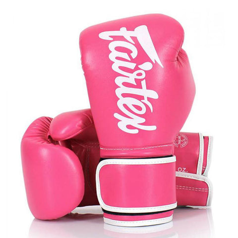 Fairtex Boxing Gloves Pink Synthetic leather (microfiber) BGV14