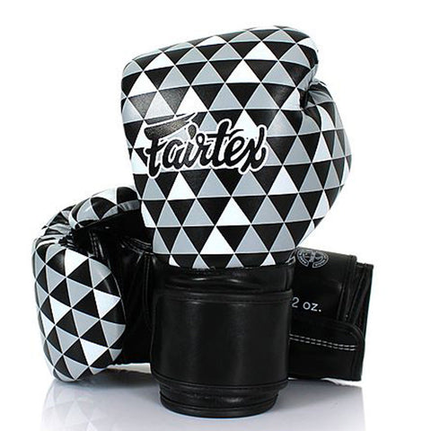 Fairtex Boxing Gloves OP ART – PRISM 1964 Synthetic leather BGV14
