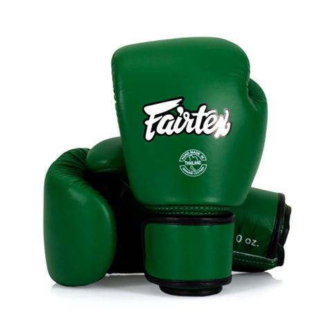 Fairtex Muay Thai Boxing Gloves Green BGV16