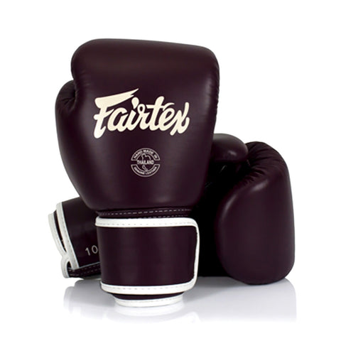 Fairtex Muay Thai Boxing Gloves Maroon BGV16
