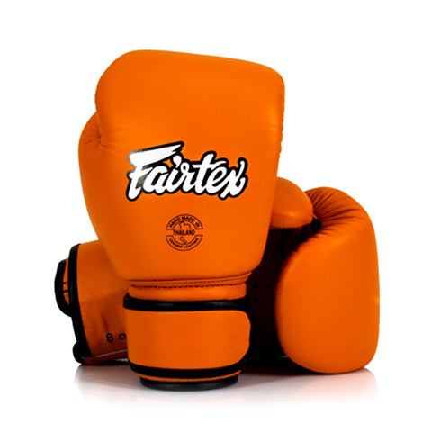 Fairtex Muay Thai Boxing Gloves Orange BGV16
