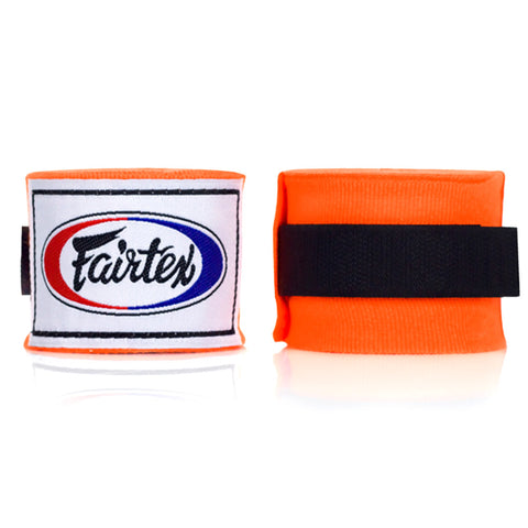 Fairtex Elastic Cotton Handwraps Orange HW2