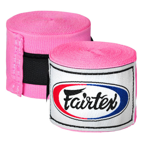 Fairtex Elastic Cotton Handwraps Pink HW2