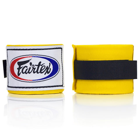 Fairtex Elastic Cotton Handwraps Yellow HW2