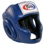 Fairtex HG3 Full Coverage Style Head Guard Blue