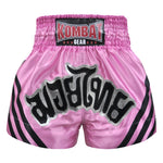 Kombat Muay Thai Boxing Pink Shorts With Black Stripe