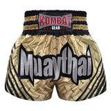 Kombat Muay Thai Boxing Ivory Steel With Black Stripe
