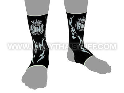 Top King Ankle Support Black TKANG02