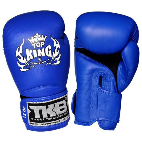 "TOP KING Boxing Gloves Super ""AIR"" Blue TKBGSA"