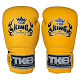"TOP KING Boxing Gloves Super ""AIR"" Yellow TKBGSA"