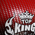 "TOP KING Boxing Gloves ""Air"" Red Super Star Printed TKBGSS01"