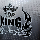 "TOP KING Boxing Gloves ""Air"" Silver Super Star Printed TKBGSS01"