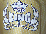 "TOP KING Shin Guards ""Super Star"" Gold TKSGSS01"