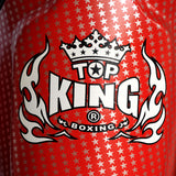 "TOP KING Shin Guards ""Super Star"" Red TKSGSS01"