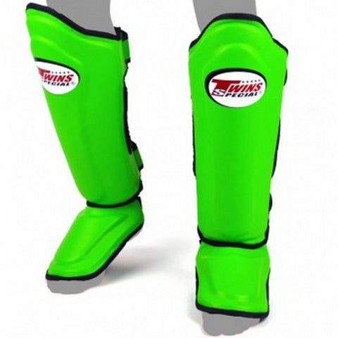 Twins Special Shin Protection Green SGL10