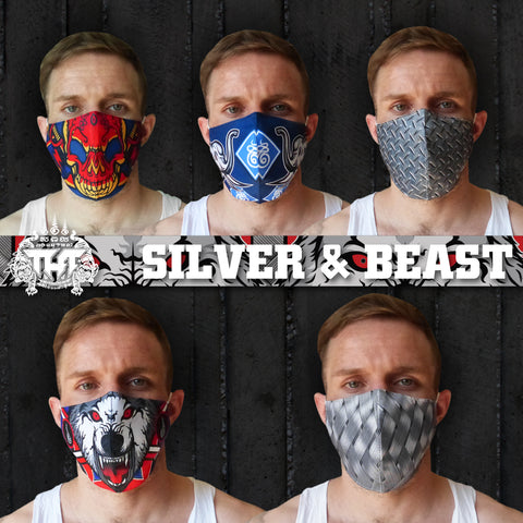 TUFF Fabric Mask Collection Set 2