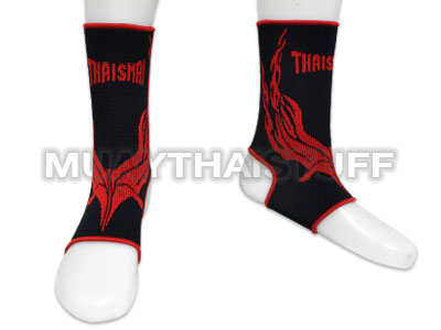 Thaismai Ankle Support Black With Red Graphic AK8002